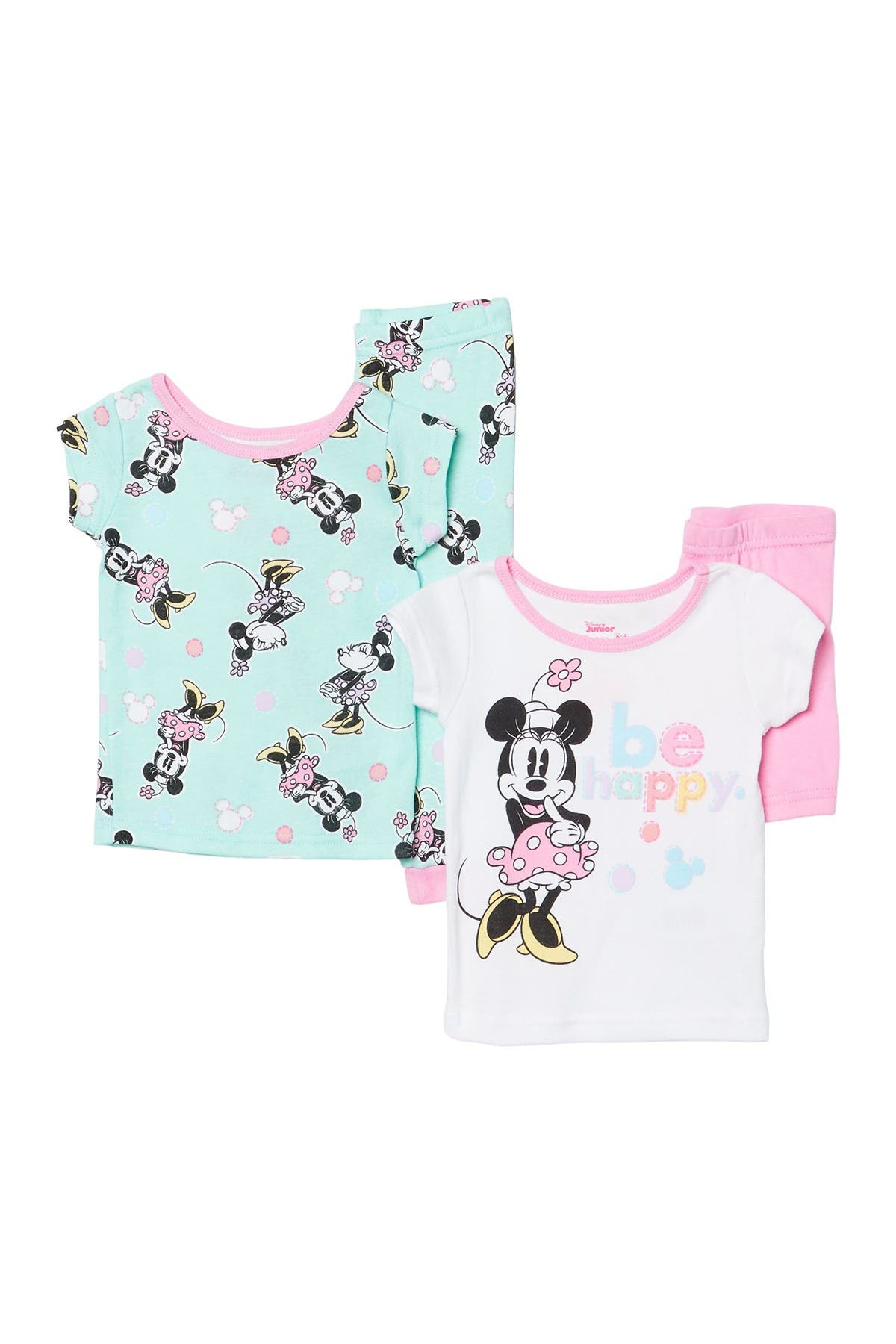 Image of AME Minnie Mouse Pajama Set - Set of 2