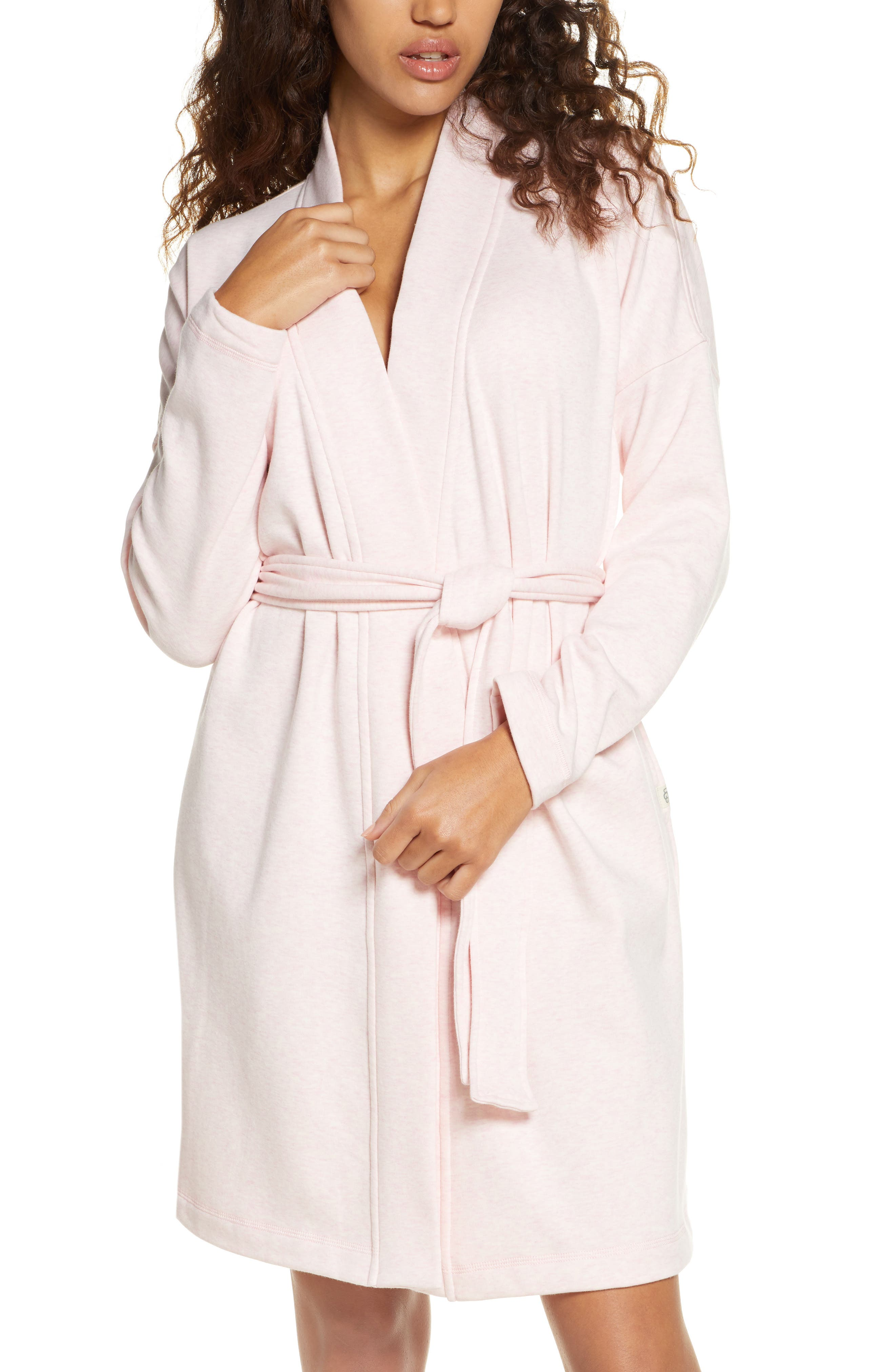 Settle in for the coziest evening in this stretchy cotton fleece robe cut with comfy dropped shoulders and extra-large front pockets. Style Name: UGG Braelyn Ii Robe. Style Number: 5983347. Available in stores.