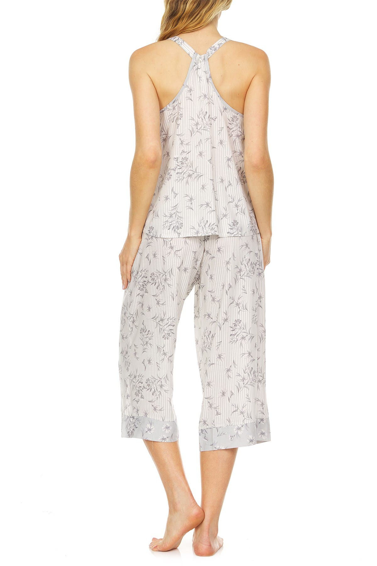 Image of Flora by Flora Nikrooz Mariah Tank & Cropped Pant 2-Piece Pajama Set
