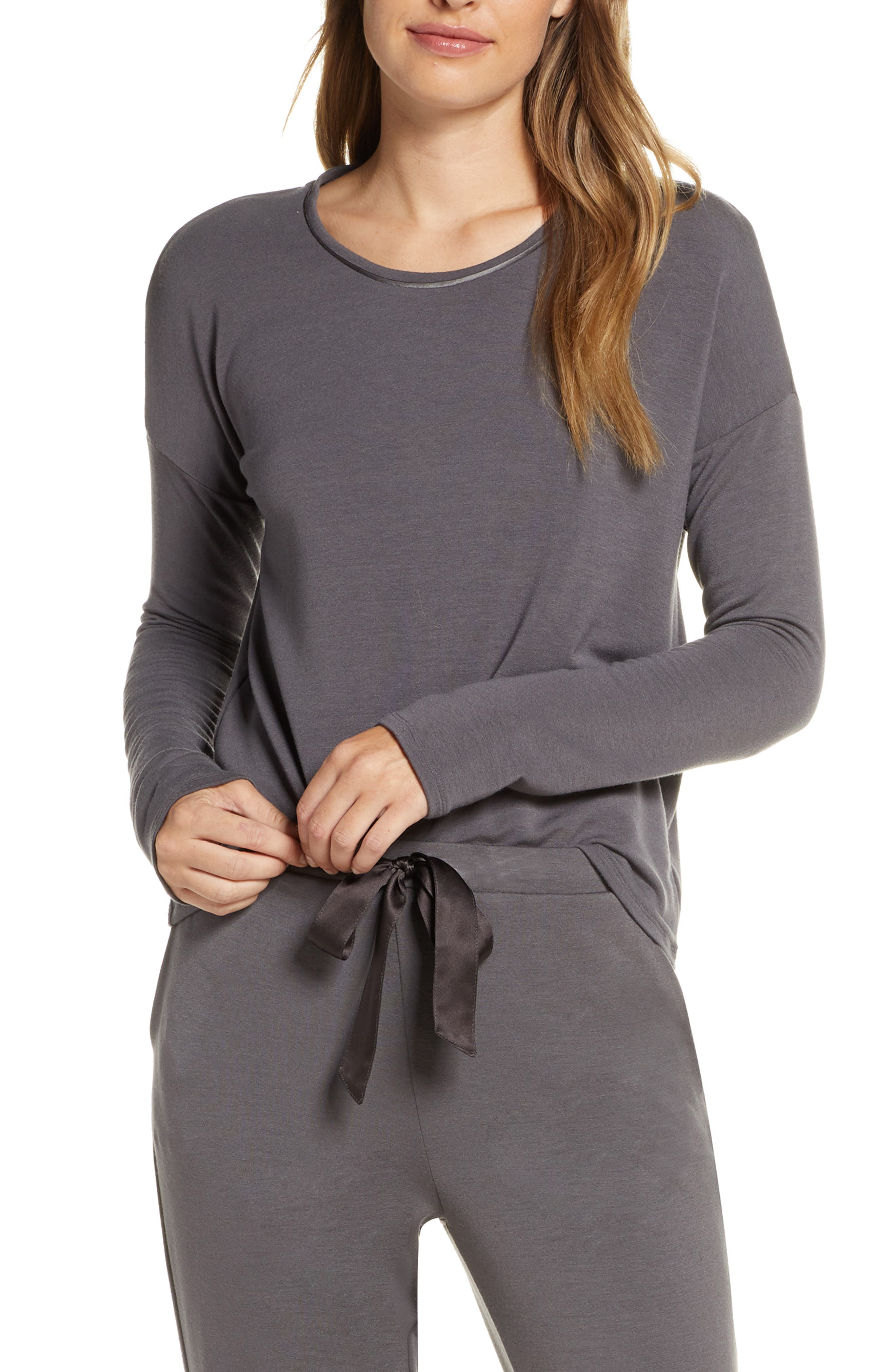 Natori Tops Cozy Sleep Top