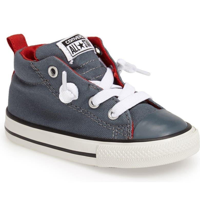 Chuck Taylor® All Star® 'Street' Mid Top Slip On Sneaker