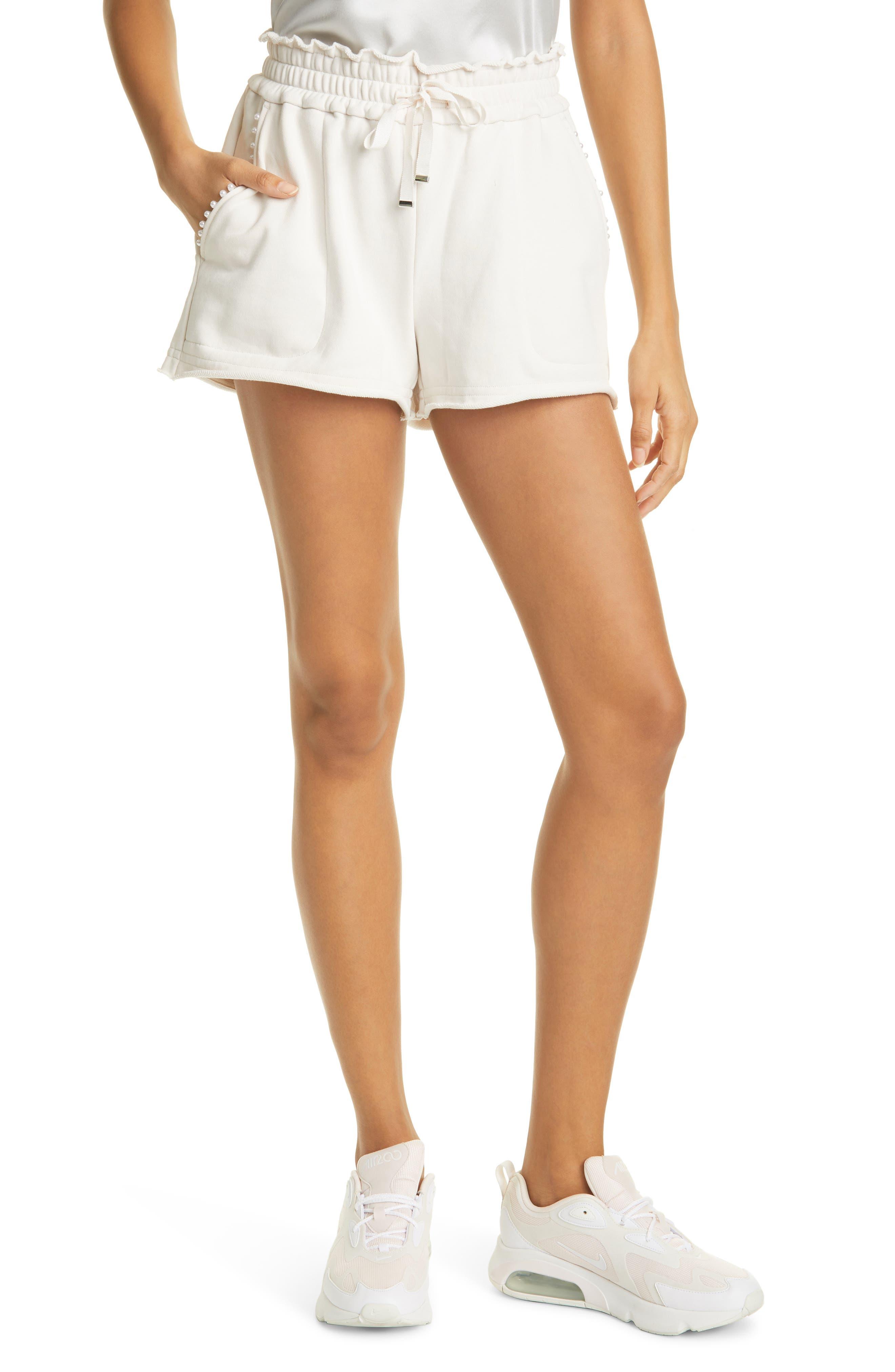 Lynley Pearl Sweat Shorts