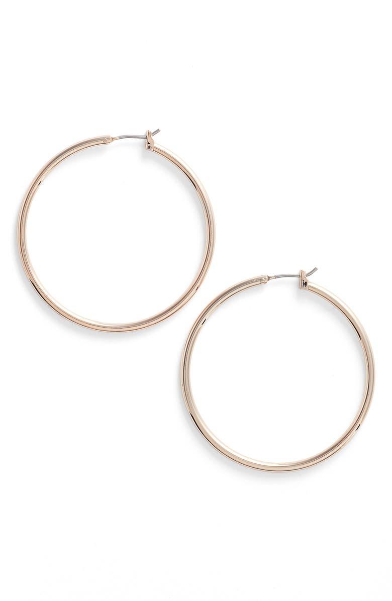 NORDSTROM Hoop Earrings, Main, color, 720