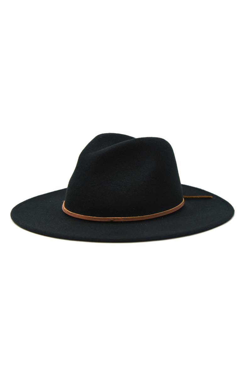 NOAKE Corgan Wool Fedora, Main, color, 001