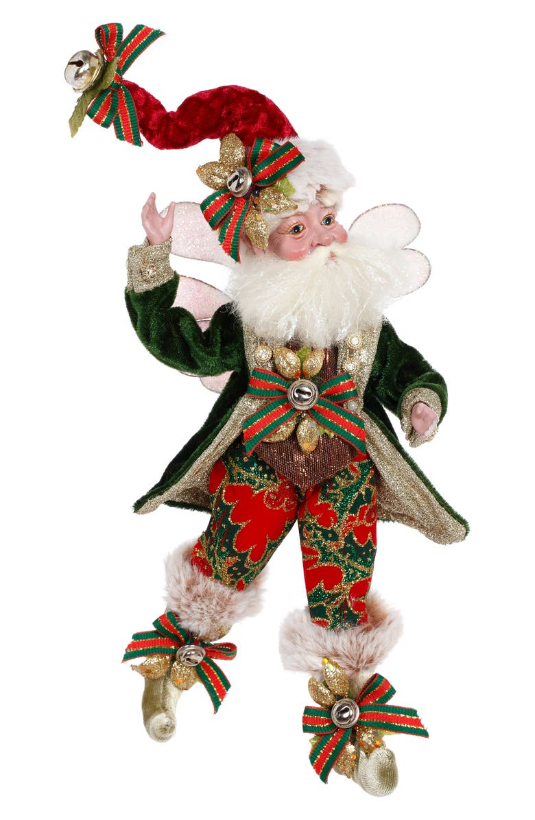 MARK ROBERTS Joyeux Noel Fairy, Main, color, GREEN SMALL