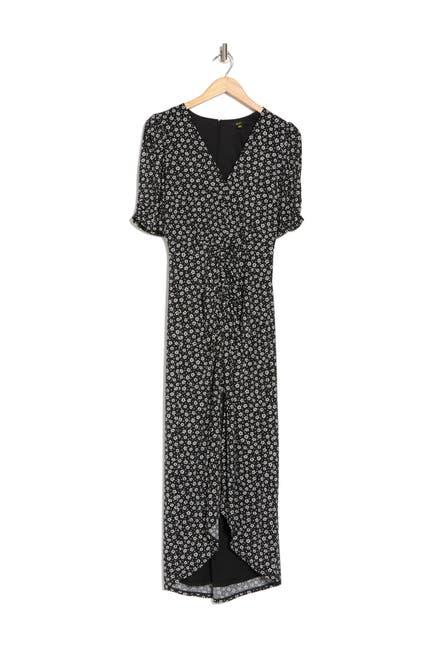 Image of AFRM Samie Printed Midi Dress
