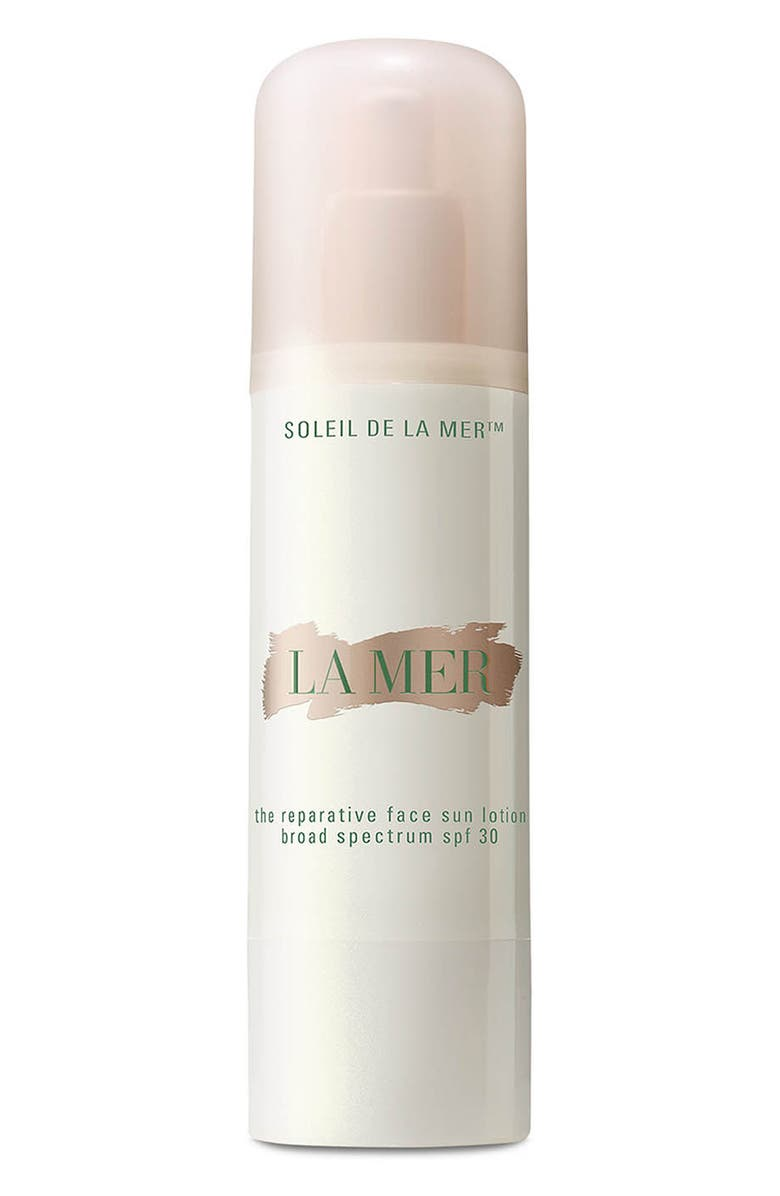 LA MER Soleil de La Mer - The Reparative Face Sun Lotion Broad Spectrum SPF 30, Main, color, NO COLOR
