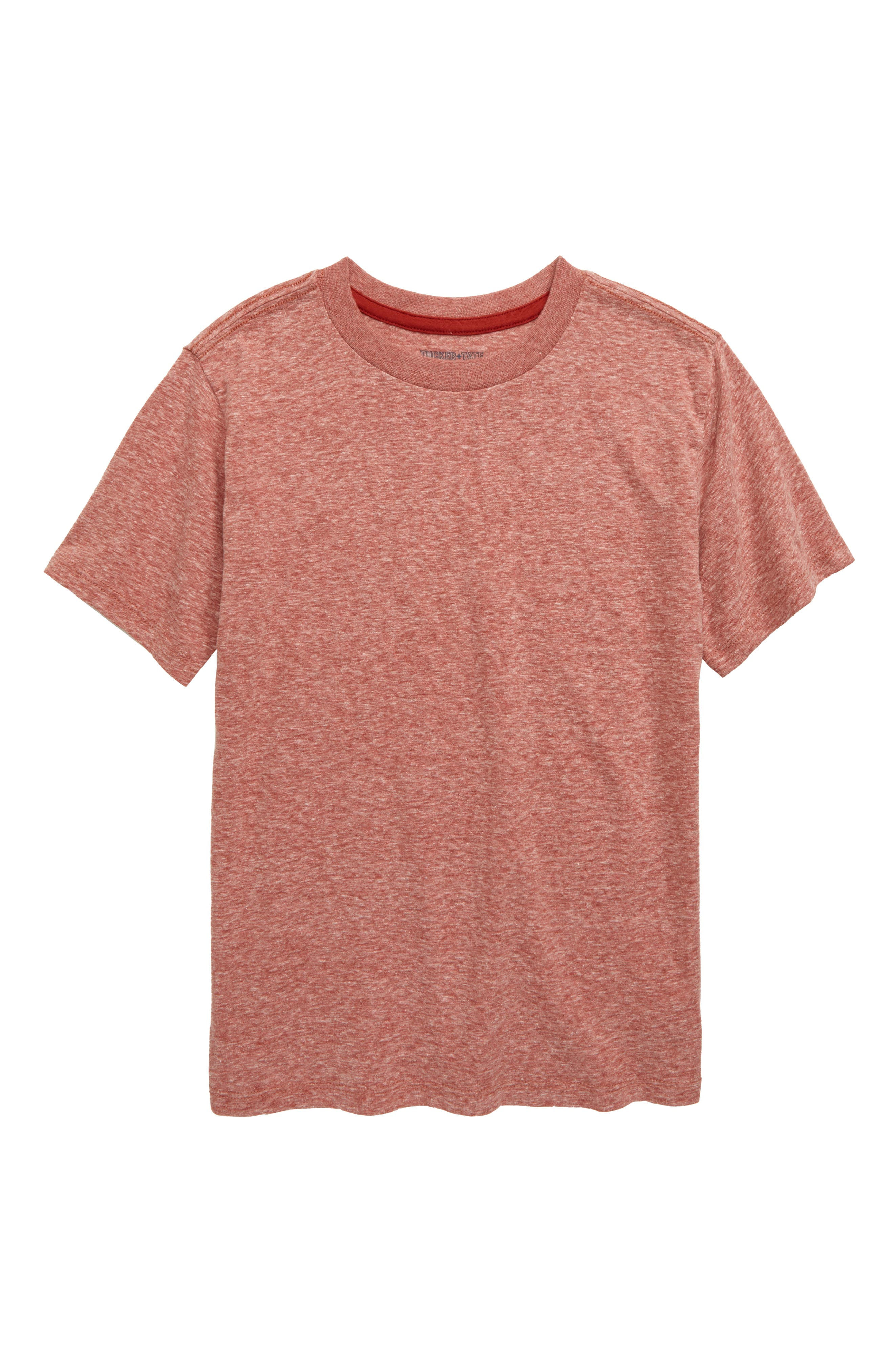 This everyday essential is spruced up in an ultrasoft, heathered cotton blend. Style Name: Tucker + Tate Kids\\\' Essential Heathered T-Shirt (Little Boy & Big Boy). Style Number: 5939513. Available in stores.