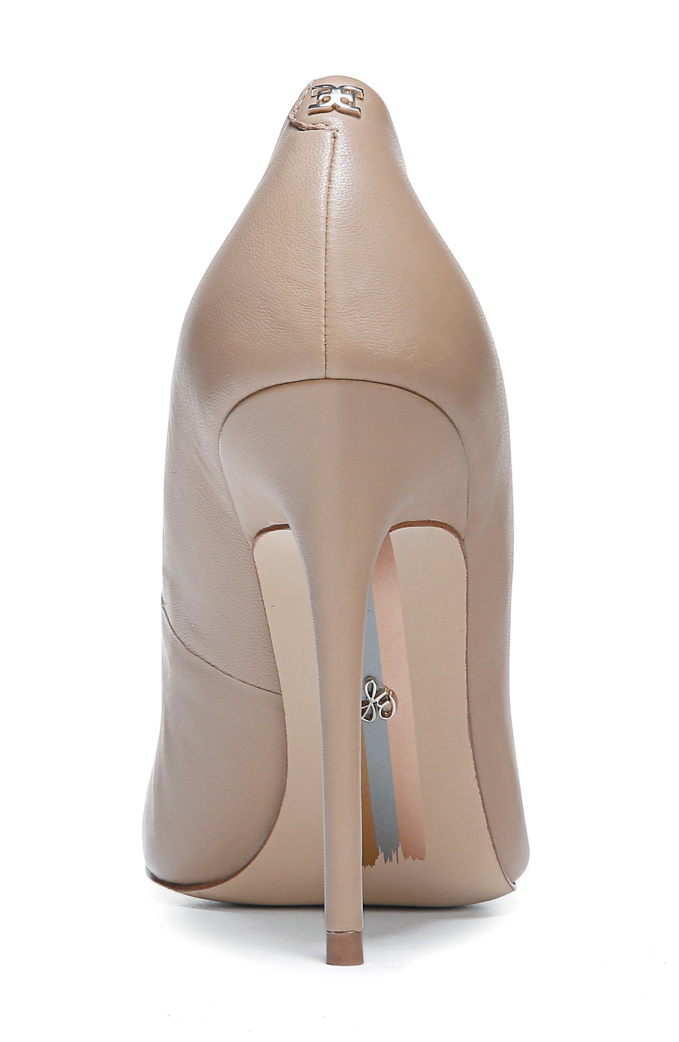 ,                             Danna Pointy Toe Pump,                             Alternate thumbnail 6, color,                             CLASSIC NUDE LEATHER