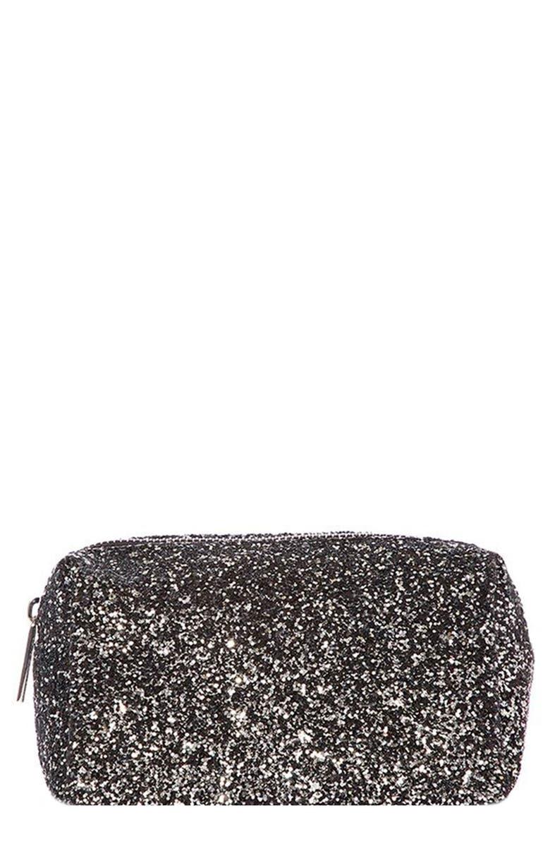 SKINNYDIP Midnight Makeup Bag, Main, color, NO COLOR