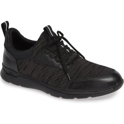 Johnston & Murphy Prentiss Xc4 Waterproof Sneaker- Black