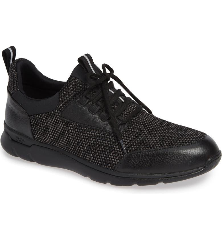JOHNSTON & MURPHY Prentiss XC4<sup>®</sup> Waterproof Sneaker, Main, color, 001