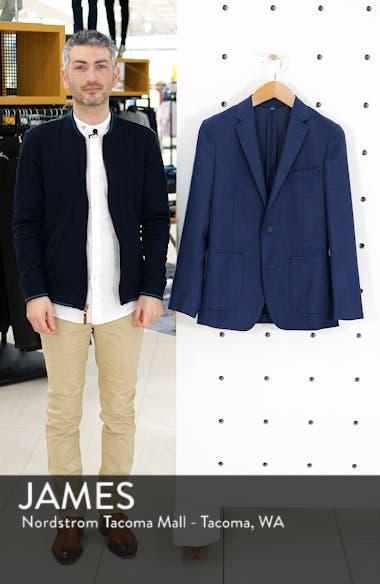 Slim Fit Wool Unconstructed Sport Coat, sales video thumbnail