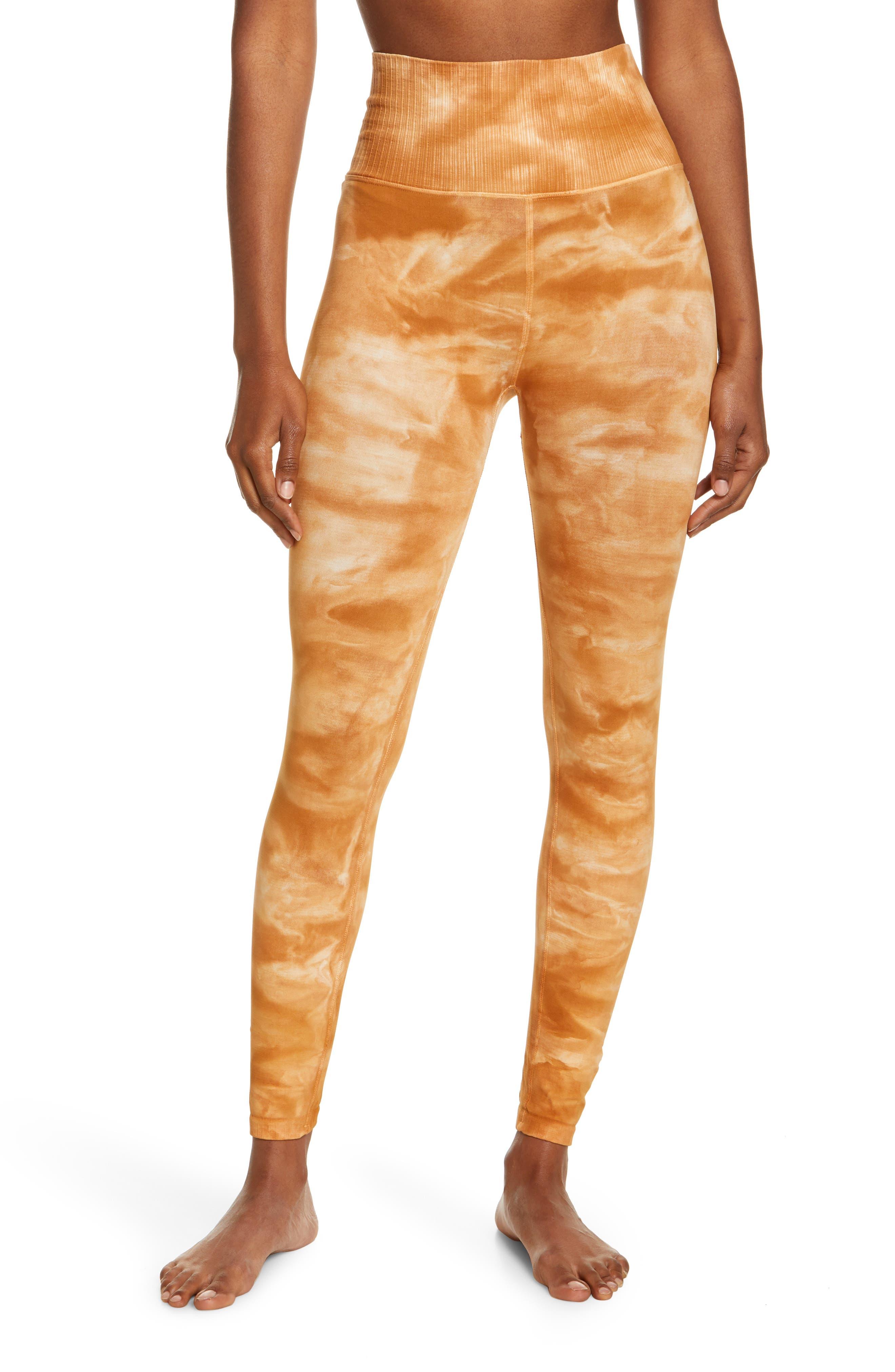 Om Shanti Tie Dye Leggings