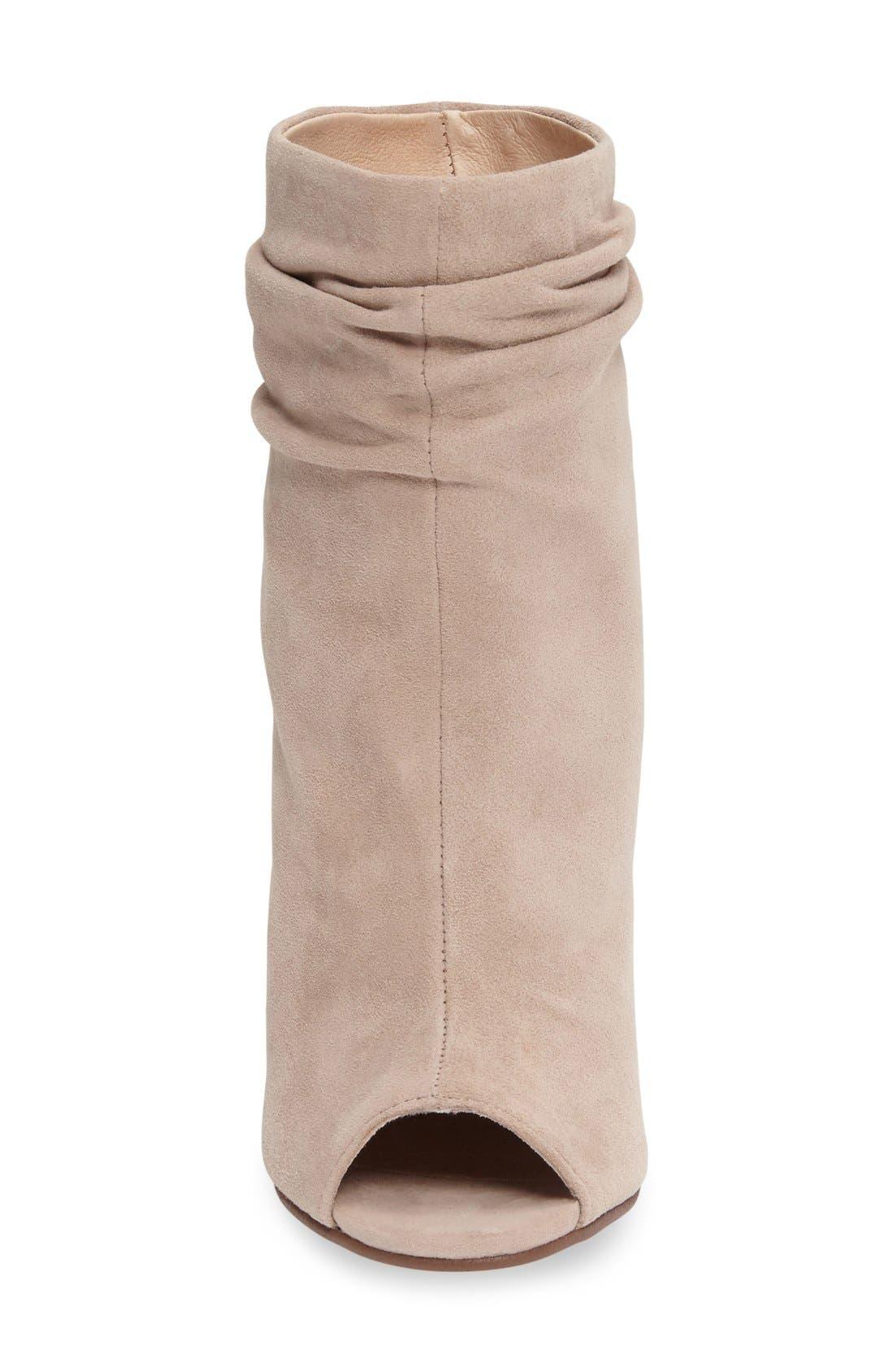 ,                             'Laurel' Peep Toe Bootie,                             Alternate thumbnail 8, color,                             027