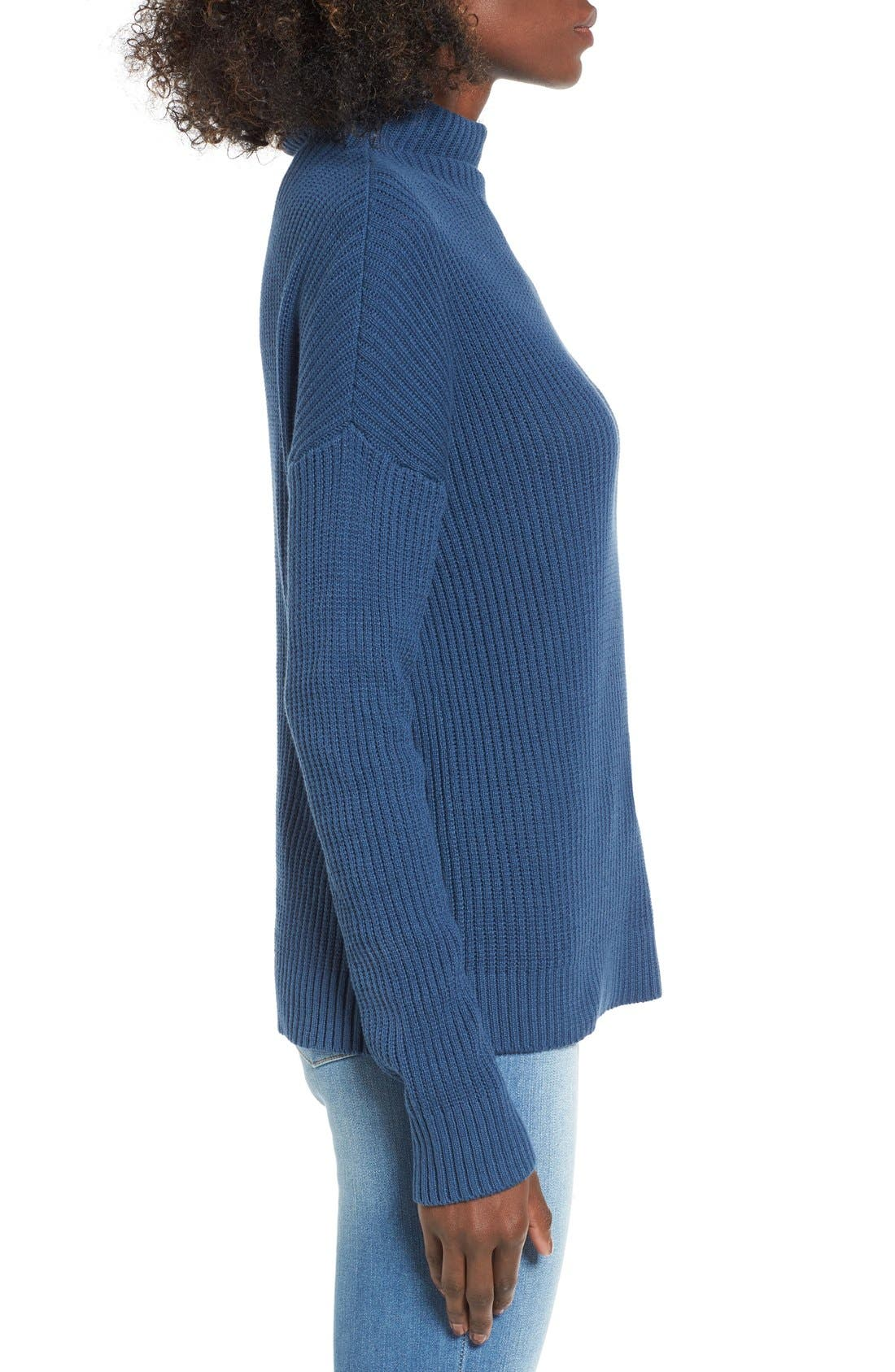 ,                             Mock Neck Sweater,                             Alternate thumbnail 24, color,                             401