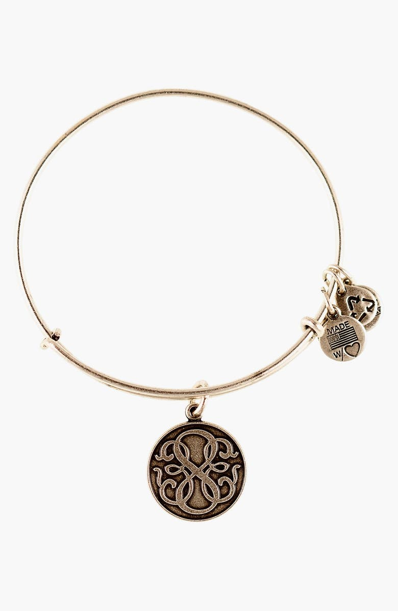 ALEX AND ANI 'Path of Life' Wire Bangle, Main, color, 040