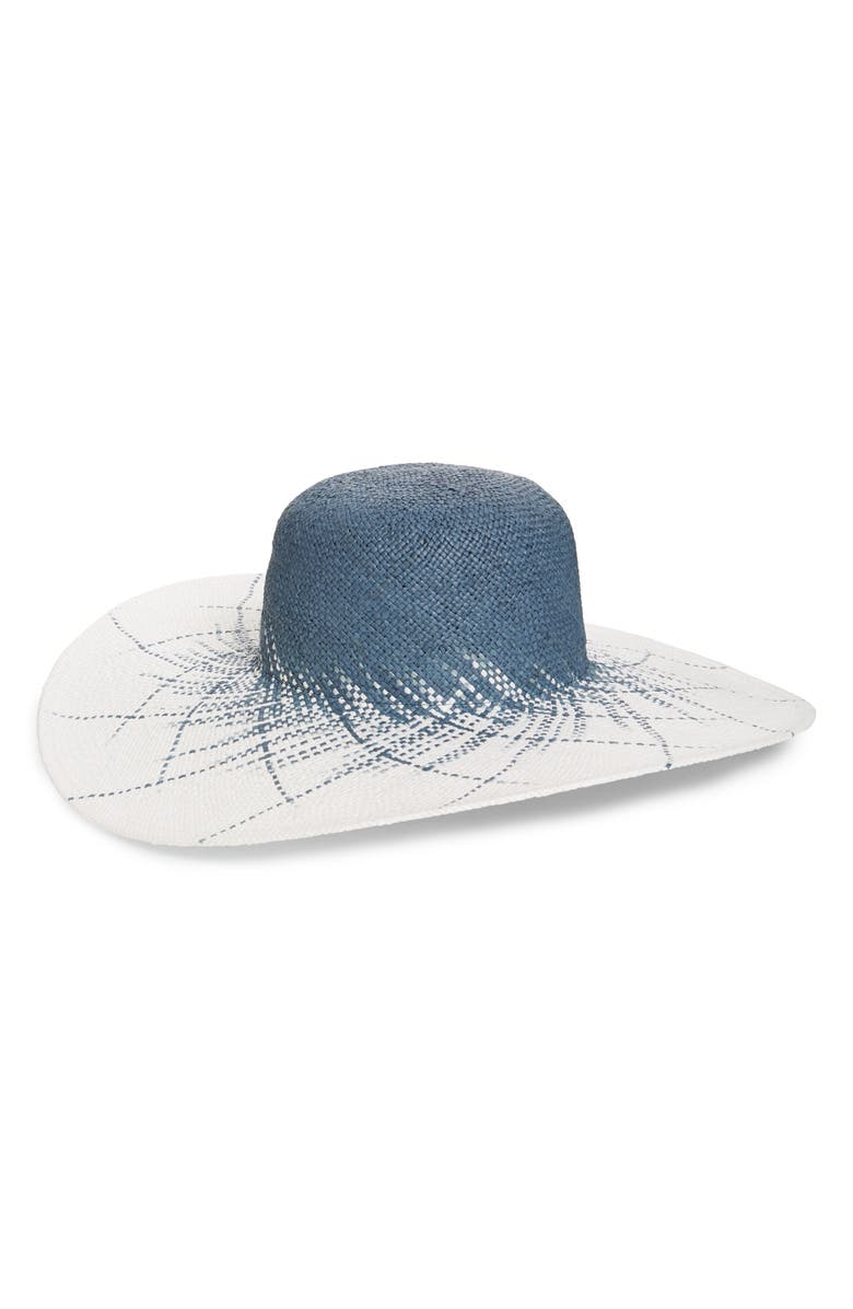 NORDSTROM Ombré Woven Sun Hat, Main, color, 420
