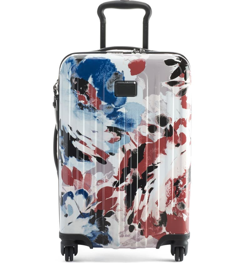 TUMI V4 Collection 22-Inch Spinner Carry-On, Main, color, BLUSH FLORAL
