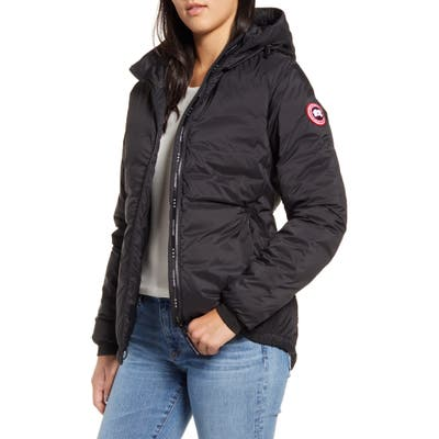 Canada Goose Camp Down Hooded Water Resistant Jacket, (000-00) - Black