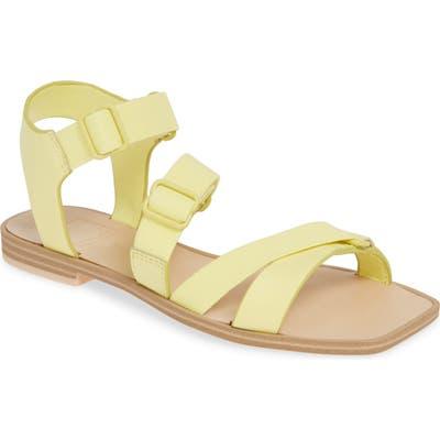 Dolce Vita Indah Strappy Sport Sandal, Yellow