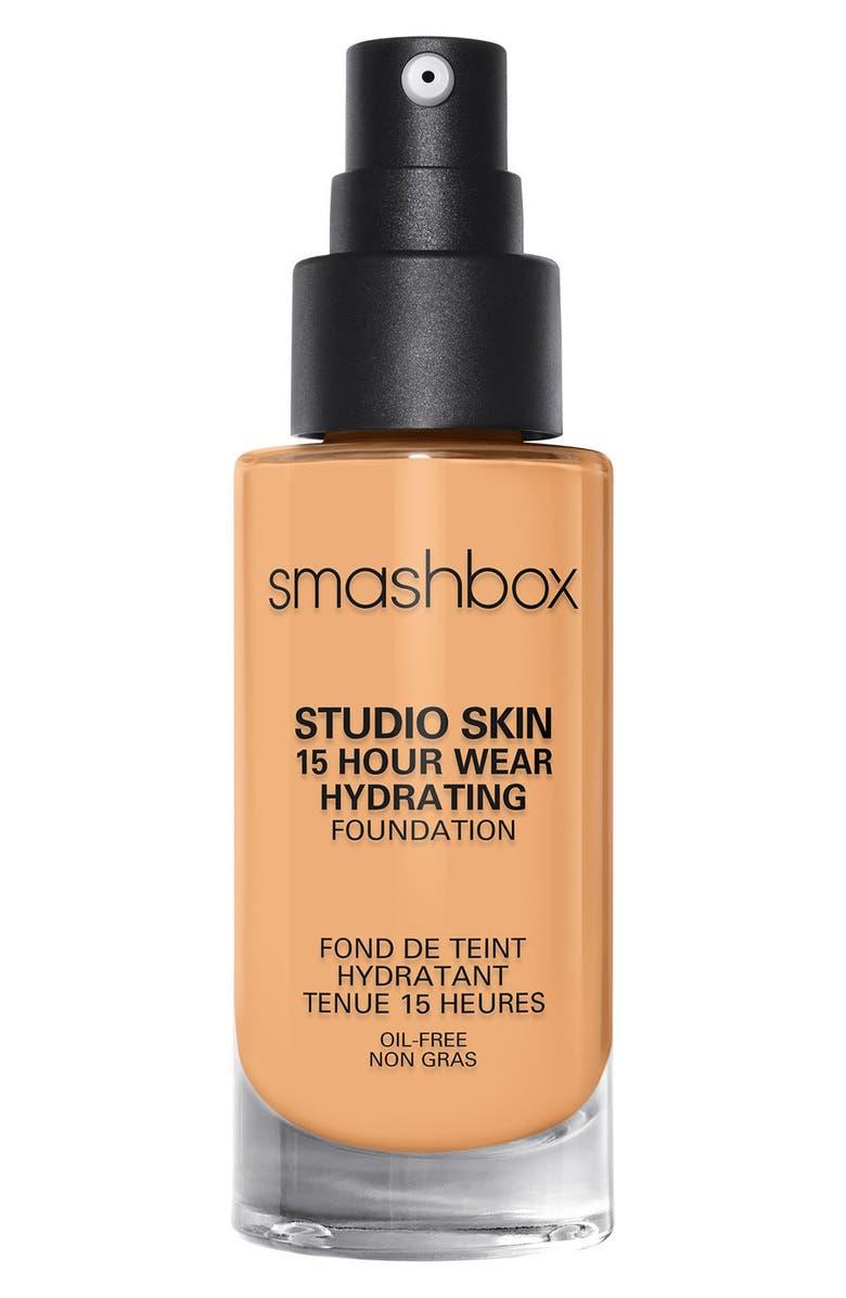 SMASHBOX Studio Skin 15 Hour Wear Hydrating Foundation, Main, color, 2.35 LIGHT-MEDIUM WARM GOLDEN