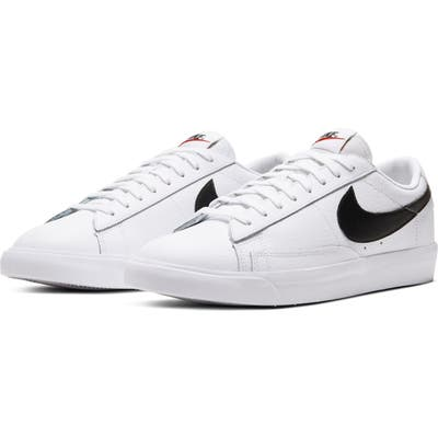 Nike Blazer Low Leather Sneaker- White