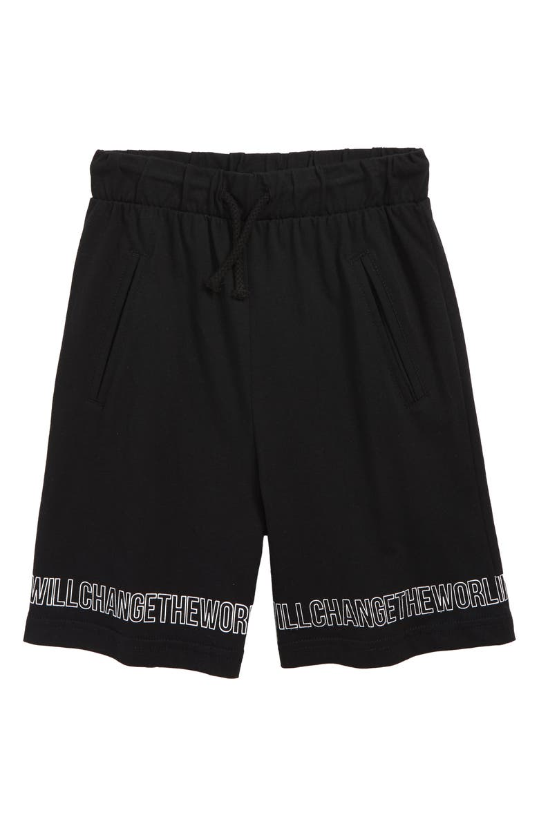 SOMETIME SOON Rio Organic Cotton Shorts, Main, color, 001