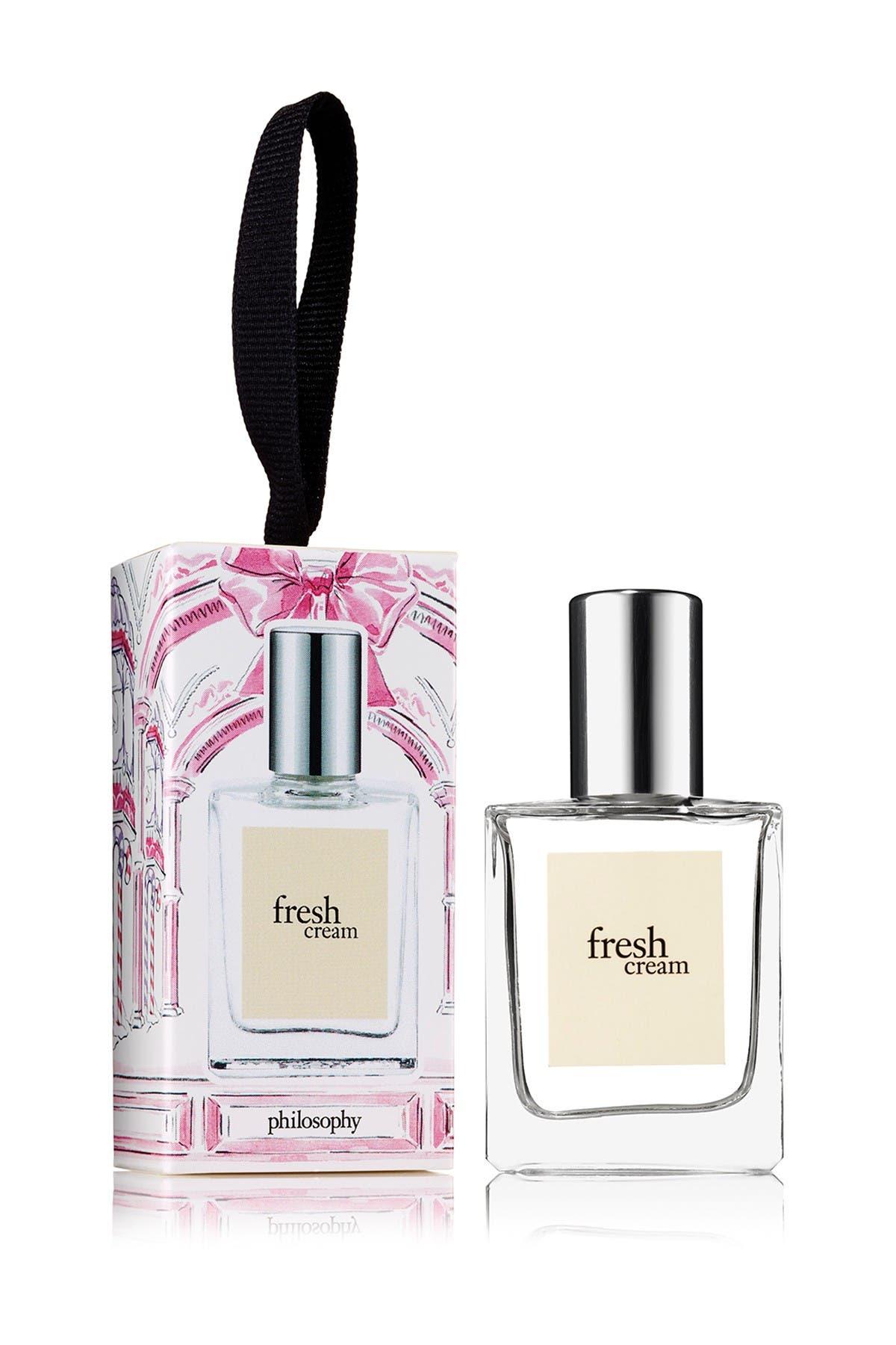 Image of philosophy fresh cream ornament - 0.5 oz.