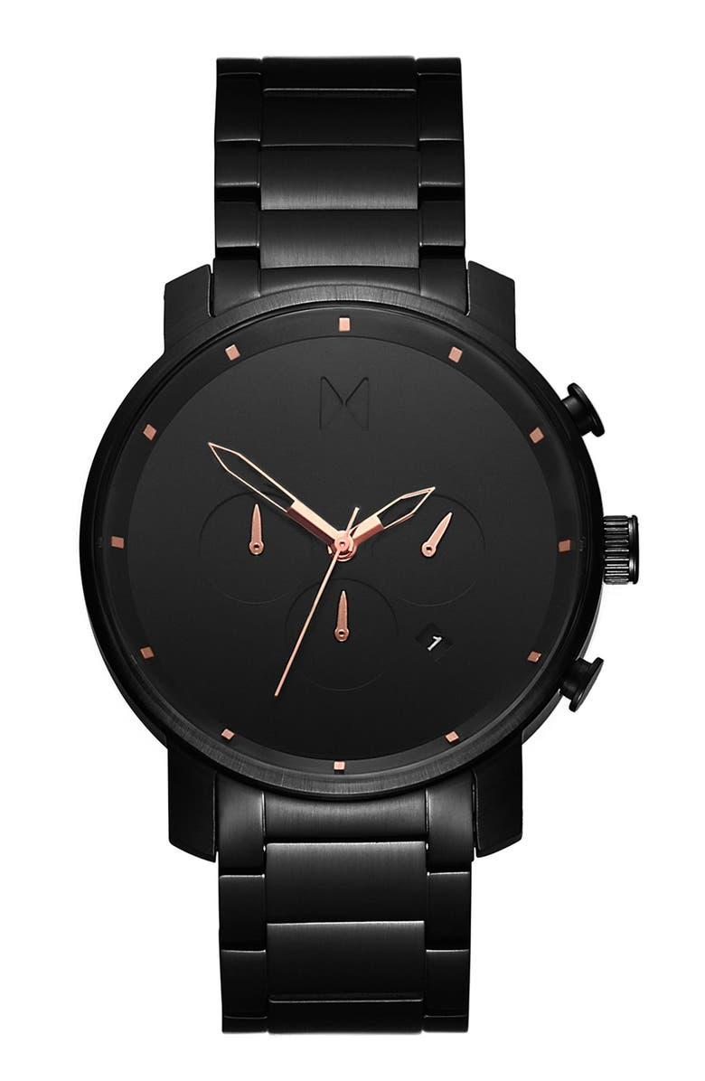 MVMT The Chrono Chronograph Bracelet Watch, 45mm, Main, color, 710