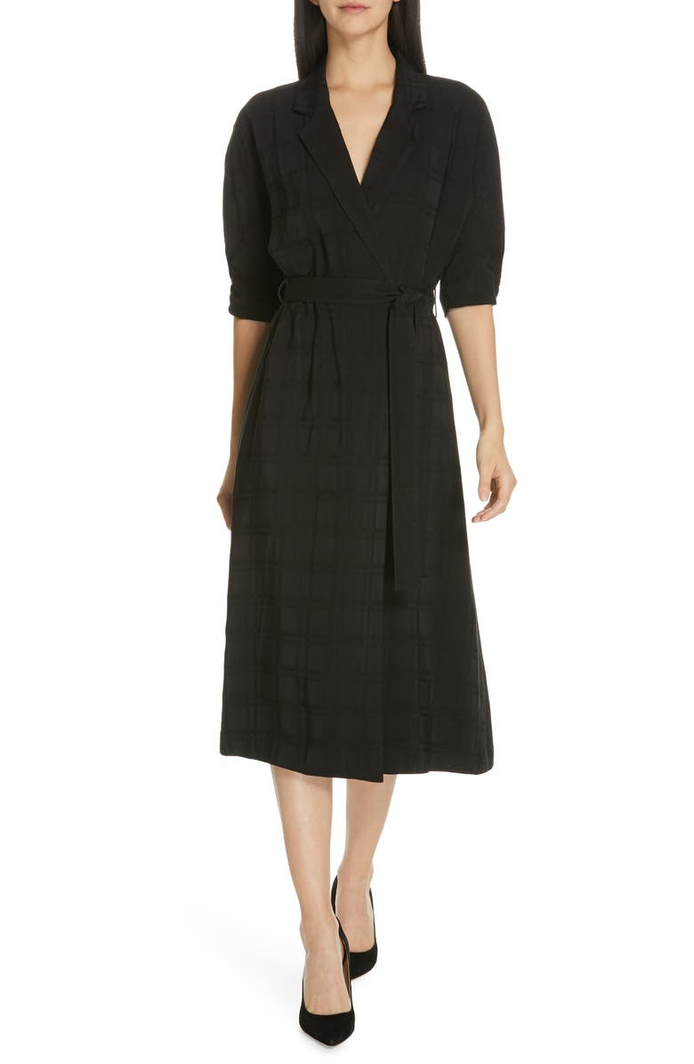 EQUIPMENT Anitone Wrap Dress, Main, color, 001