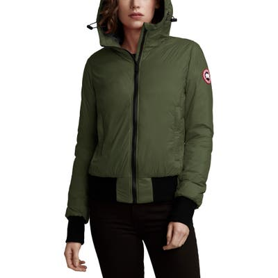 Canada Goose Dore Down Hooded Jacket, (10-12) - Green