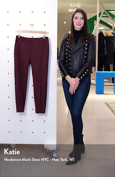 Leo Slim Stretch Wool Pants, sales video thumbnail