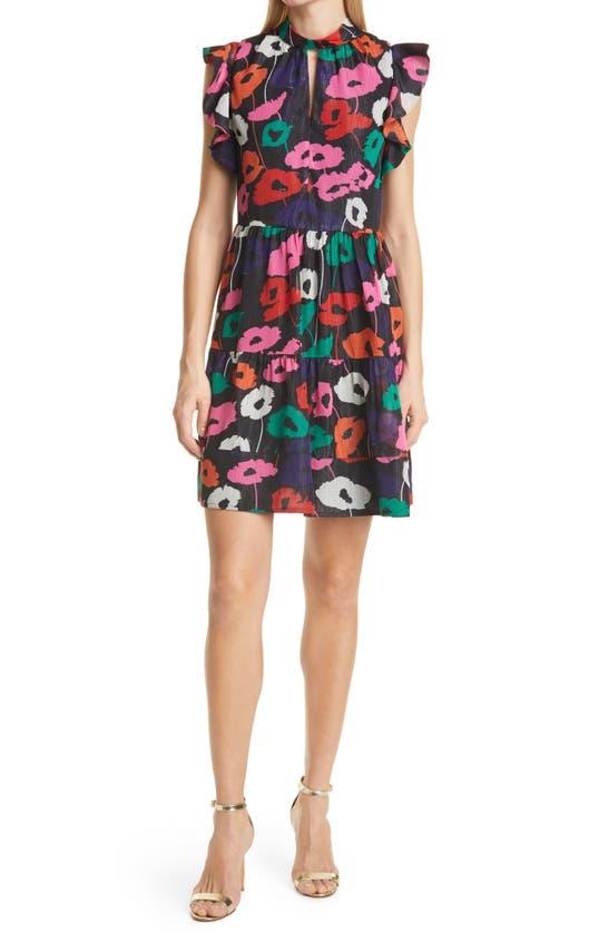 MILLY Dresses LAYLA POPPY PRINT DRESS
