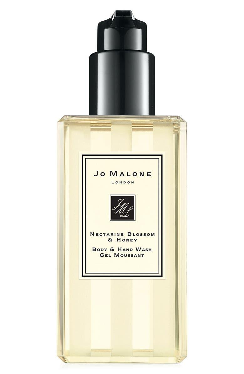 JO MALONE LONDON<SUP>™</SUP> Nectarine Blossom & Honey Body & Hand Wash, Main, color, NO COLOR