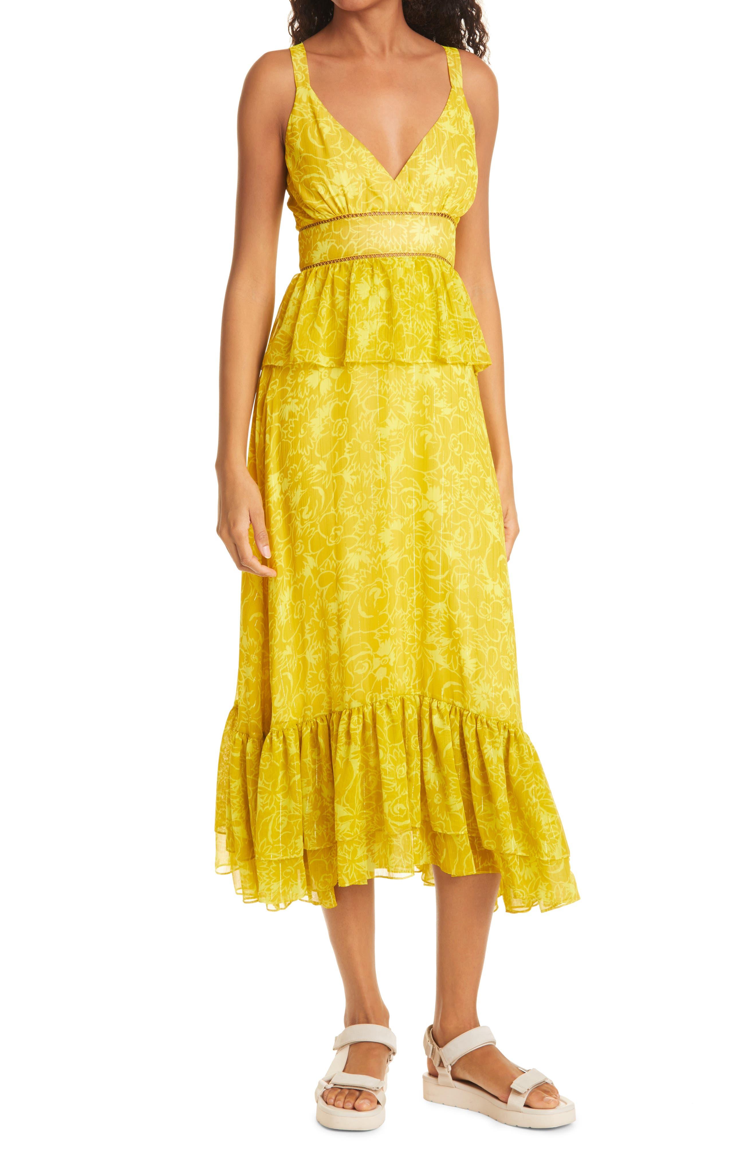 Carla Floral Midi Dress