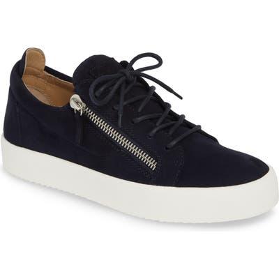 Giuseppe Zanotti Low Top Sneaker, Blue