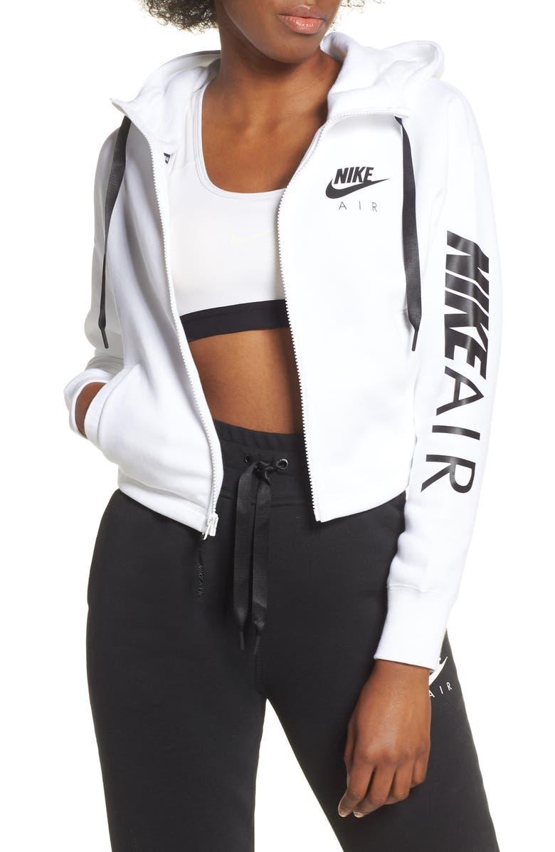 NIKE Sportswear Air Full Zip Hoodie, Main, color, 100