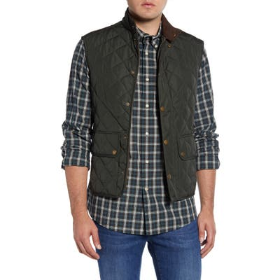 Barbour Lowerdale Regular Fit Quilted Vest, Green