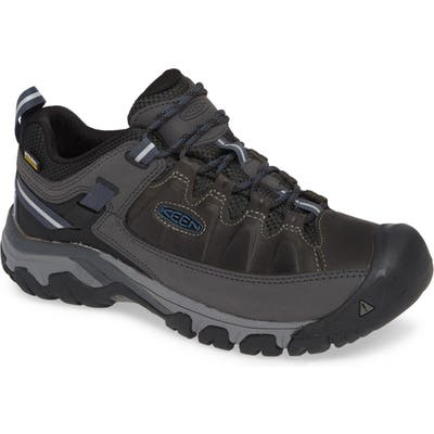 Keen Targhee Iii Waterproof Hiking Shoe- Grey