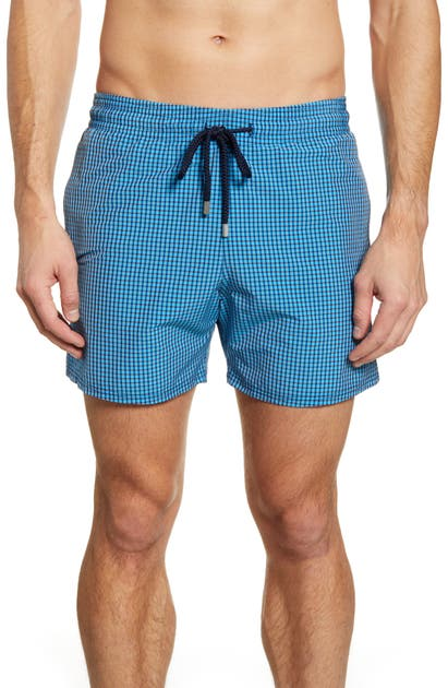 Vilebrequin Pants TILES STRETCH SWIM TRUNKS
