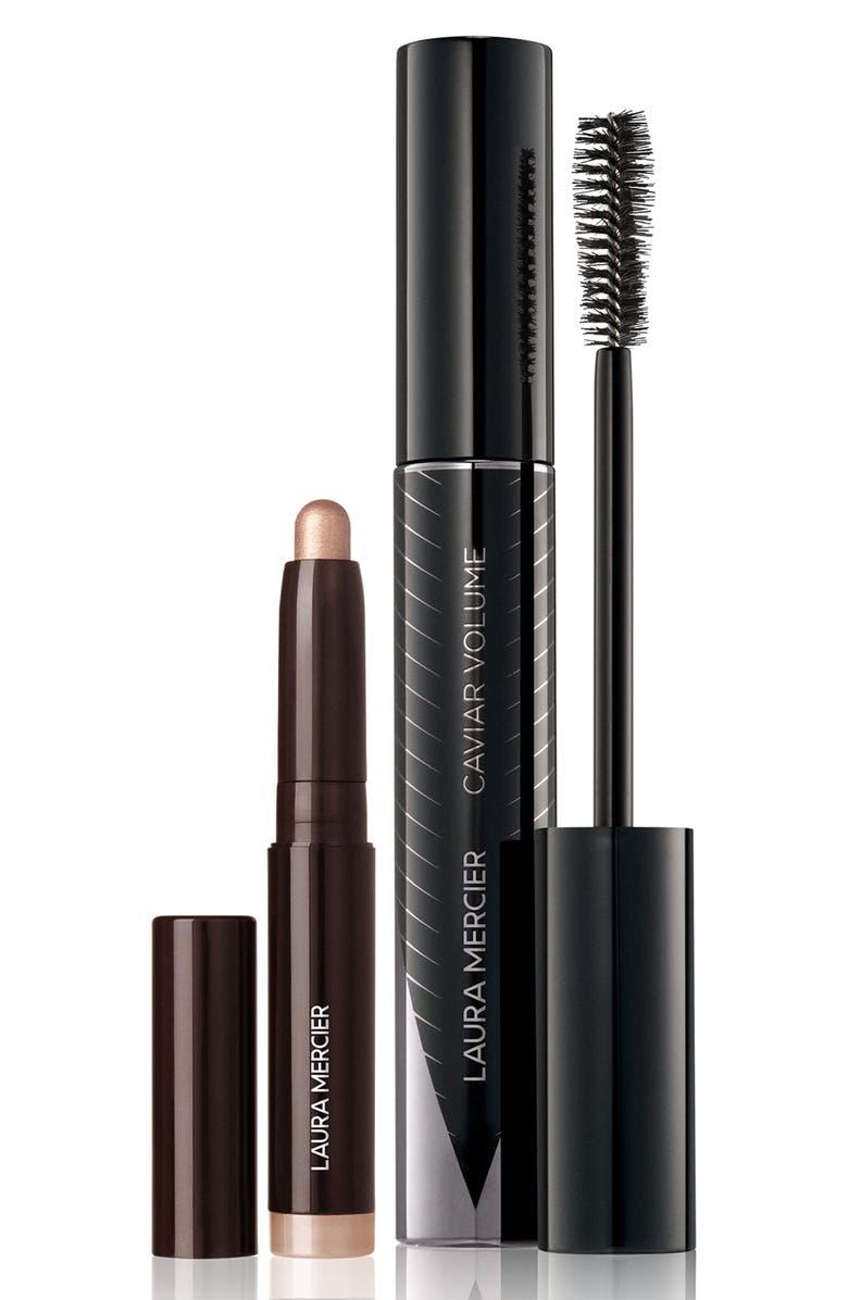 LAURA MERCIER Caviar Duet Mascara & Eyeshadow Set, Main, color, NO COLOR