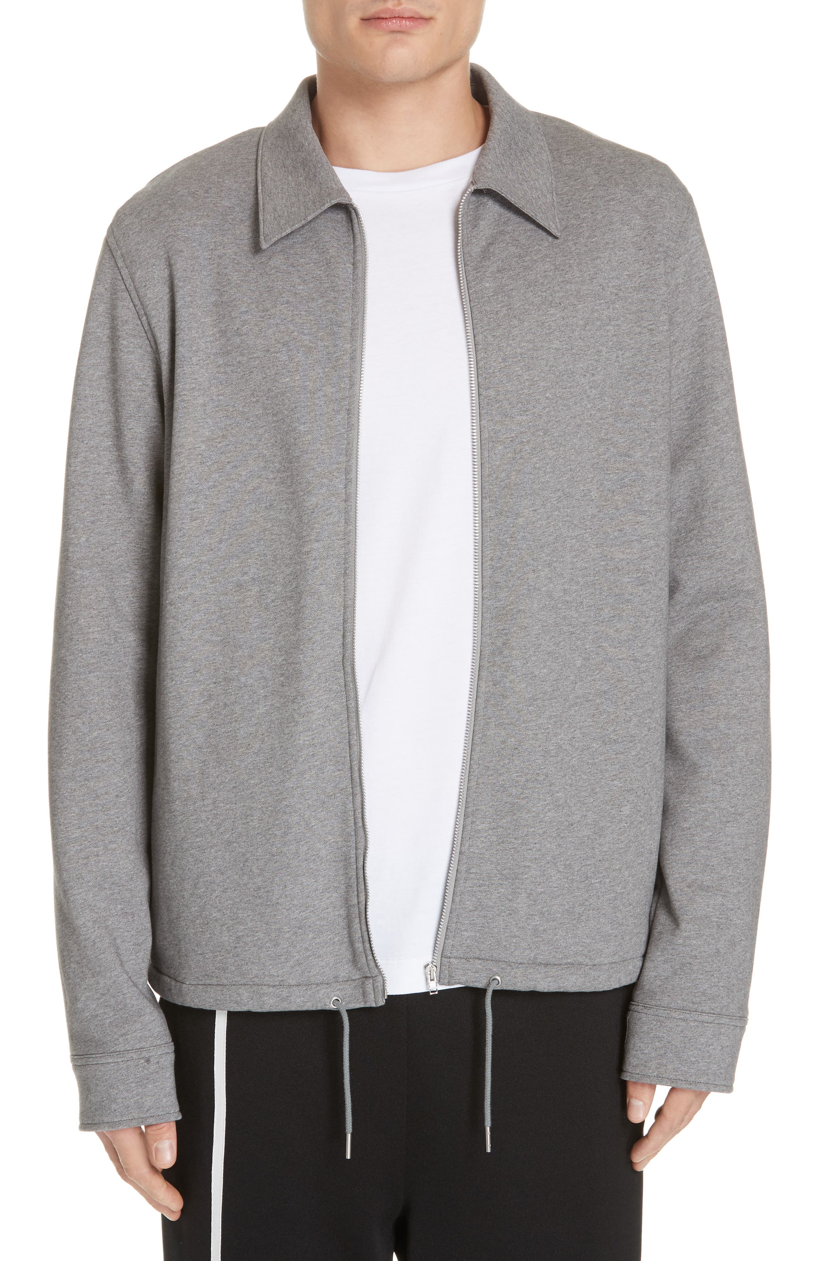 Helmut Lang Fleece Zip Jacket, Grey