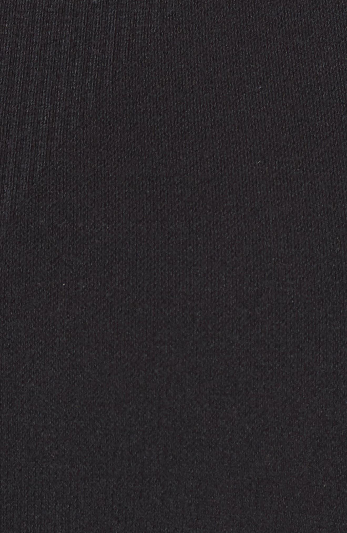 ,                             So True Seamless Longline Sports Bra,                             Alternate thumbnail 6, color,                             BLACK