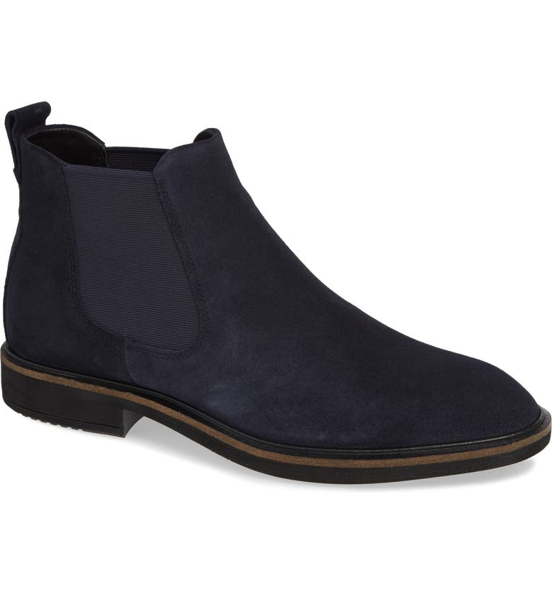 ECCO Vitrus II Chelsea Boot, Main, color, NIGHT SKY SUEDE