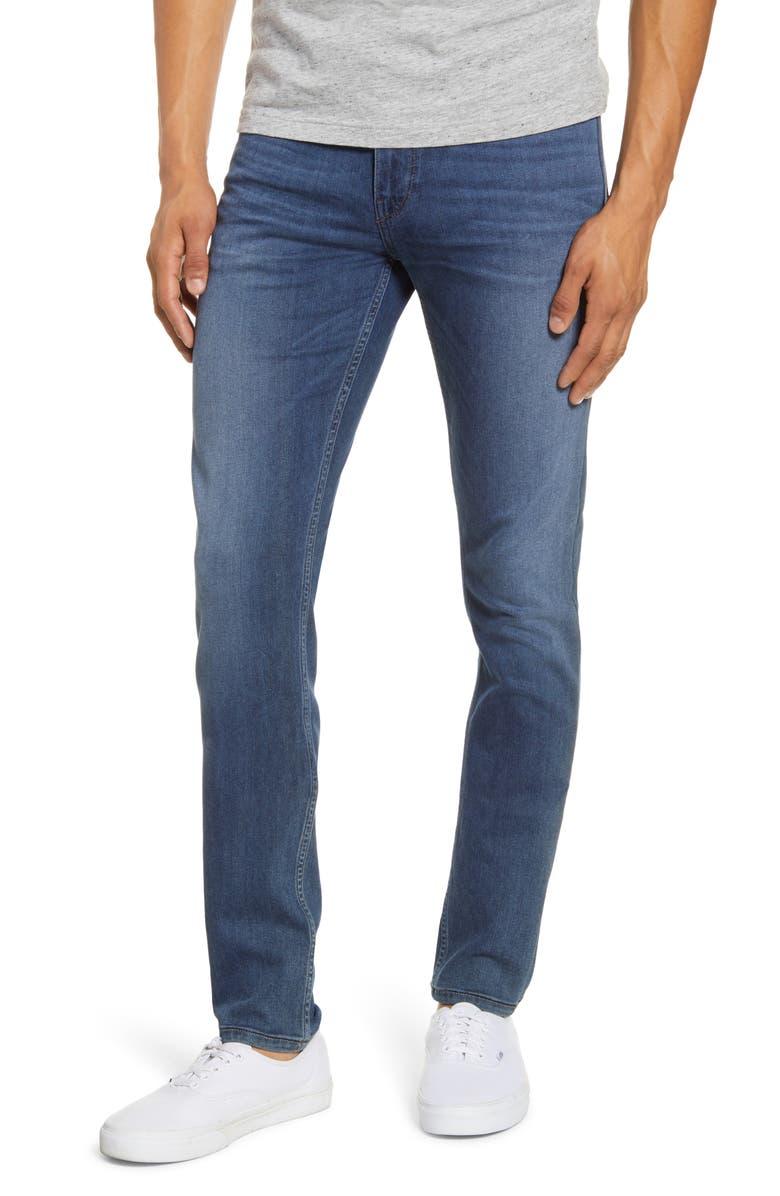 PAIGE Transcend - Croft Skinny Fit Jeans, Main, color, HAWKE
