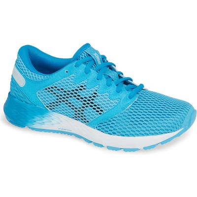 Asics Roadhawk Ff 2 Running Shoe, Blue/green