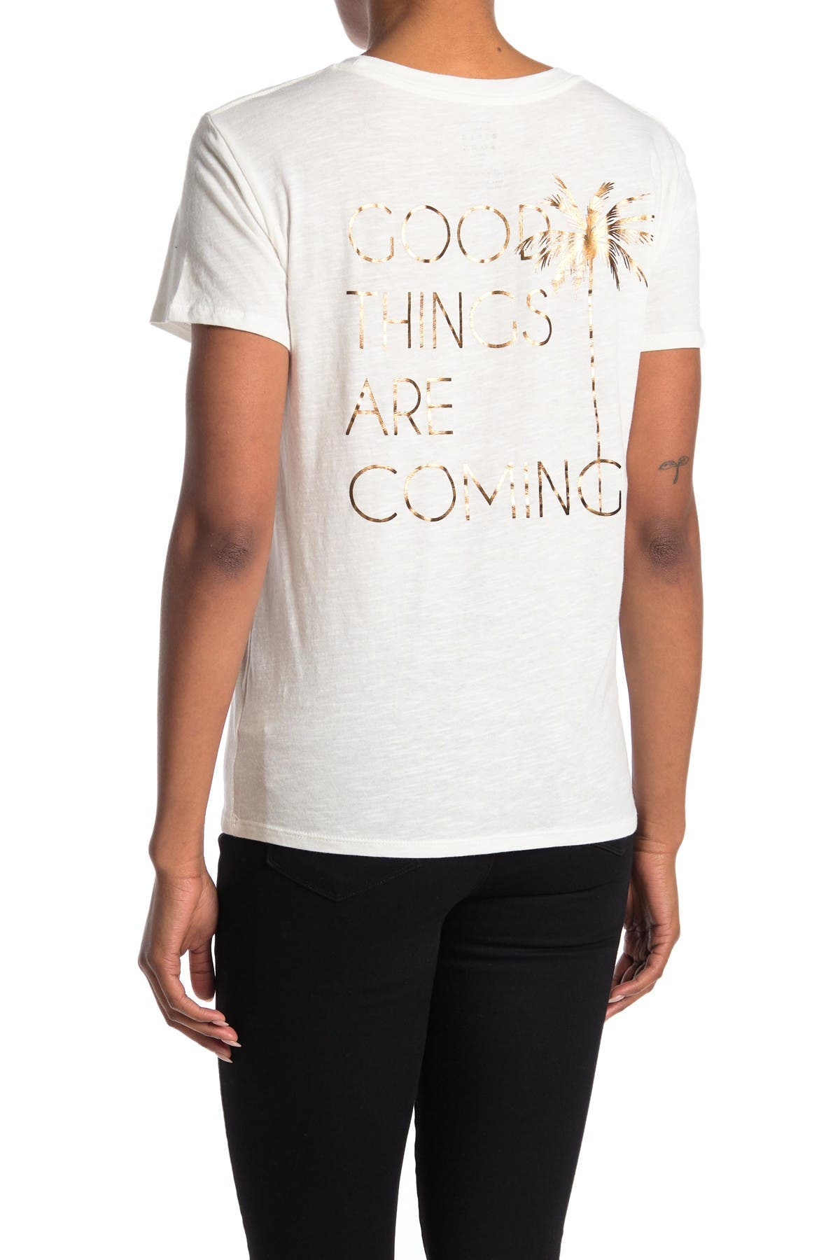 Image of Billabong They Are Coming Short Sleeve Tee