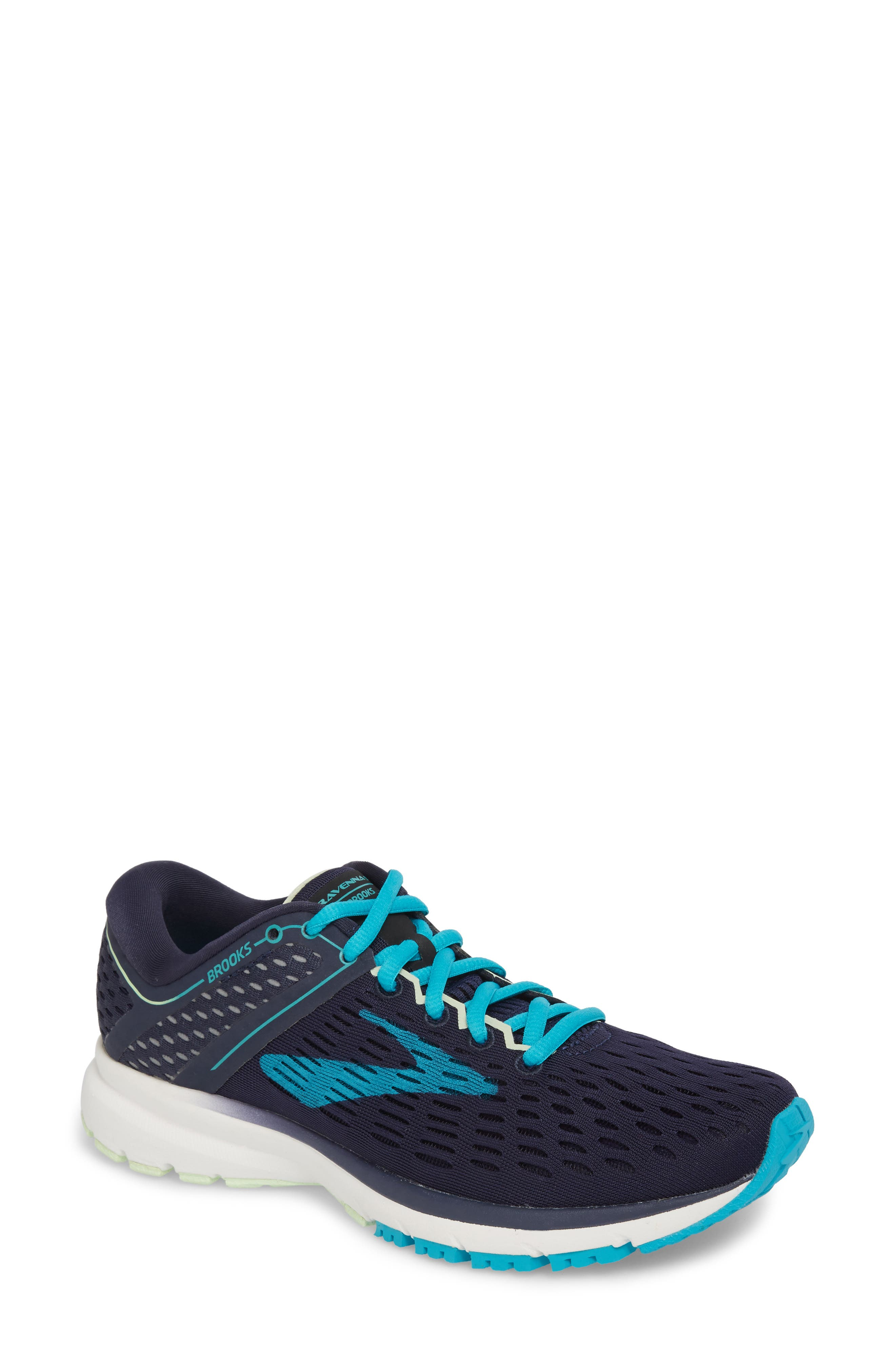 ,                             Ravenna 9 Running Shoe,                             Main thumbnail 1, color,                             NAVY/ BLUE/ GREEN