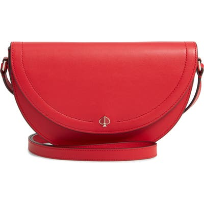 Kate Spade New York Andi Half Moon Crossbody Bag - Red